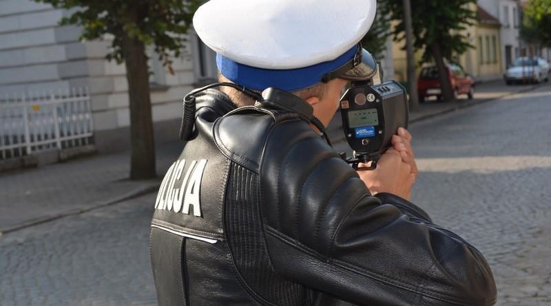 policja pomiar prędkości