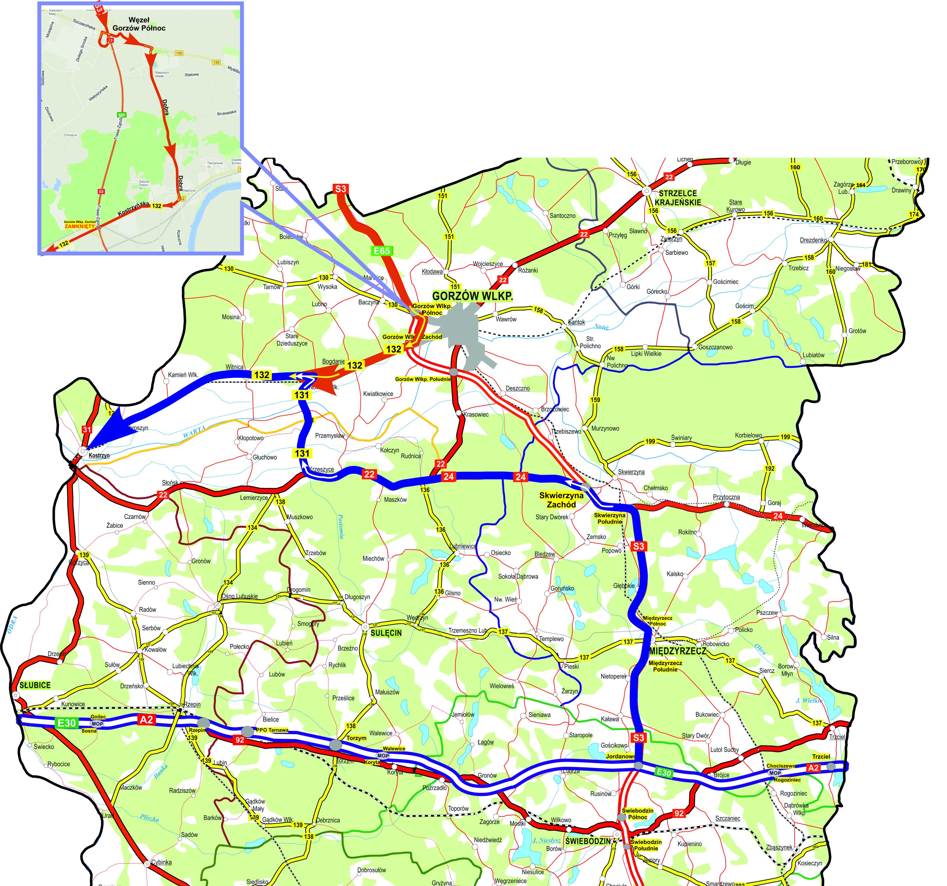 Mapa wood 135-69143