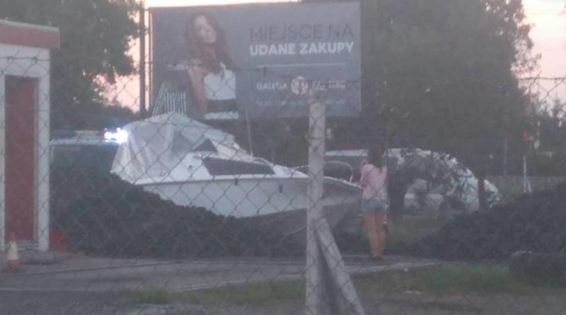 nowy Tomyśl - łódka