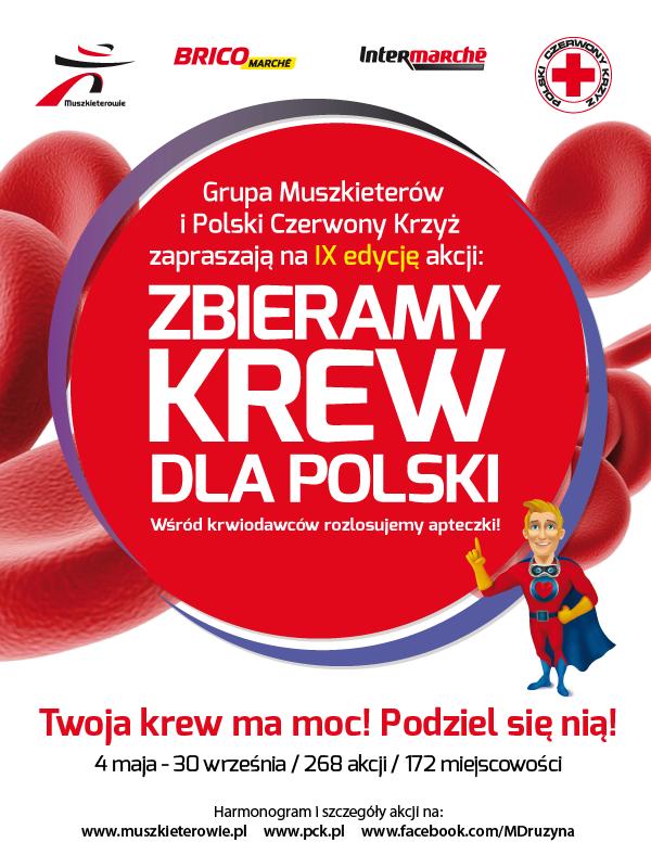 Zbieramy krew dla Polski - IX edycja-1