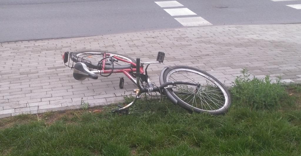 nowy tomyśl wypadek rower