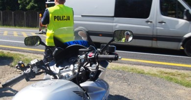 policja radiowóz motor