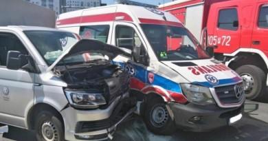 poznań wypadek kretka z busem