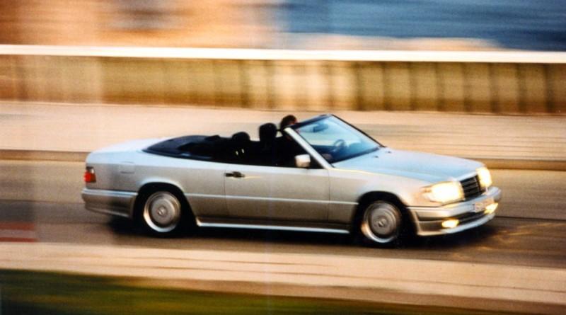 E 36 AMG Cabriolet, Baureihe 124. ;  E 36 AMG Cabriolet, 124 series.;