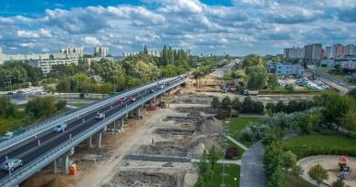 Poznań przebudowa estakady katowickiej