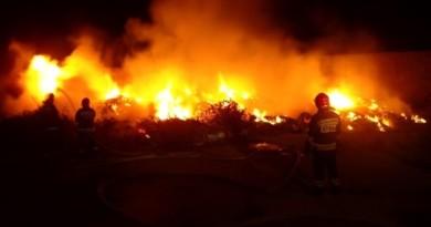 gniezno pożar straż