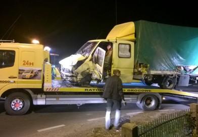 Grodzisk Wielkopolski – PILNE: Wypadek w miejscowości Modrze. Droga zablokowana!