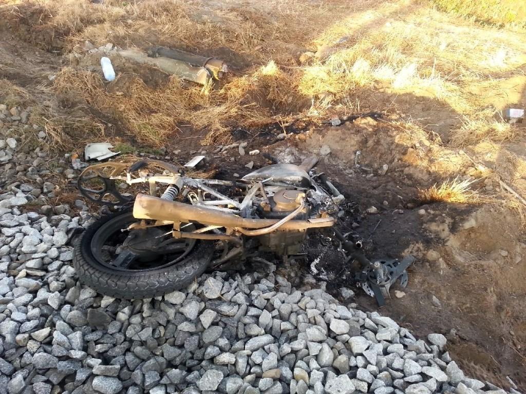 grodzisk przejazd wypadek motocykl2