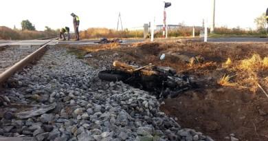 grodzisk przejazd wypadek motocykl3