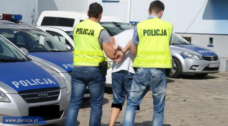 policja zatrzymanie