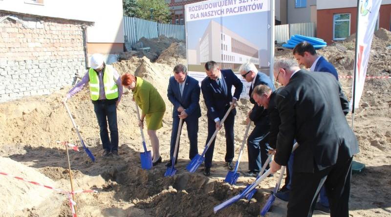 rozbudowa szpitala w Wolsztynie