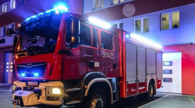 straż pożarna wóz