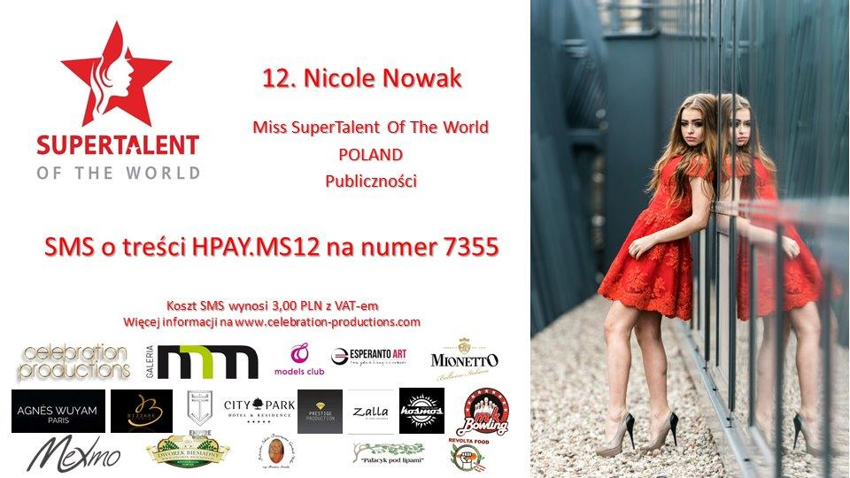 12. Nicole Nowak