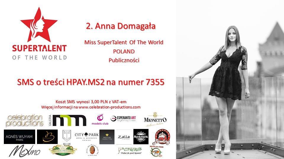 2. Anna Domagała