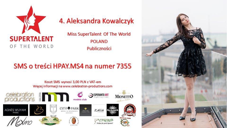 4. Aleksandra Kowalczyk