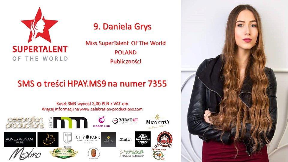 9. Daniela Grys