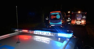 policja straż karetka wypadek