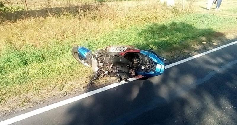 skuter wypadek