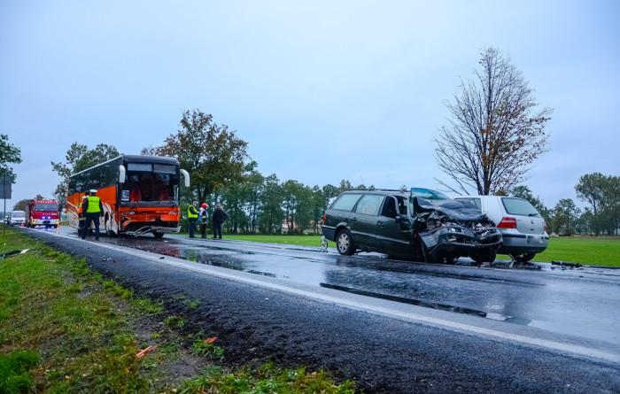 wypadek autobus