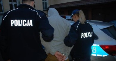 zatrzymanie kajdanki policja