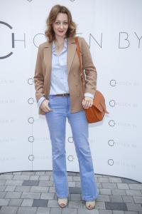 Ewa Wojciechowska na otwarciu Chosen By 01, fot AKPA