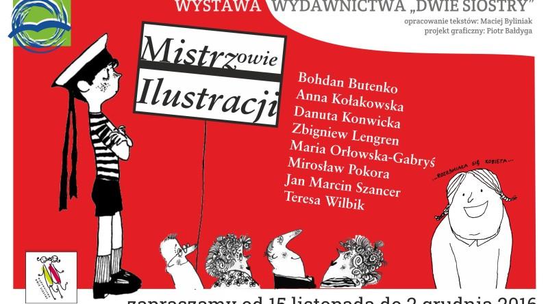 mistrzowie ilustracji plakat