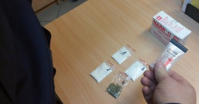 policja narkotyki narkotest