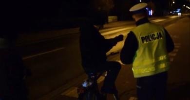 policja rowerzysta