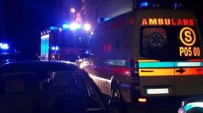 policja straż wypadek