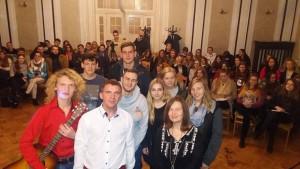 zdjęcie z publicznością