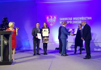"""Nowy Tomyśl nagrodzony za projekt """"Zagospodarowanie terenu przy stawie w Sękowie""""."""