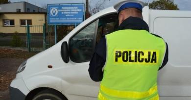 Policja kontrola bus nt