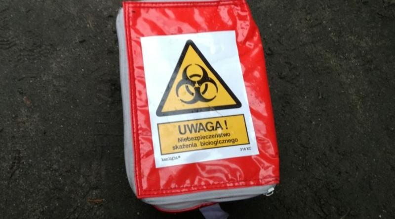niebezpieczny pakunek