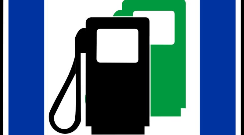 stacja benzynowa znak