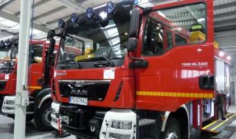 Wielkopolscy druhowie z Ochotniczych Straży Pożarnych odebrali nowe samochody