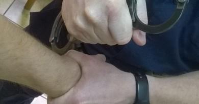 kajdanokowanie policja