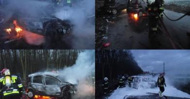 ostrów wlkp wypadek pożar