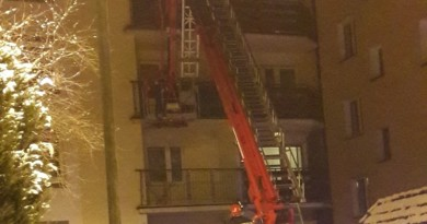 straż balkon