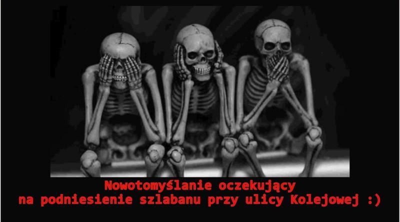 szlaban nowy tomyśl mem