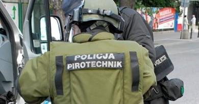 policja saper pirotechnik