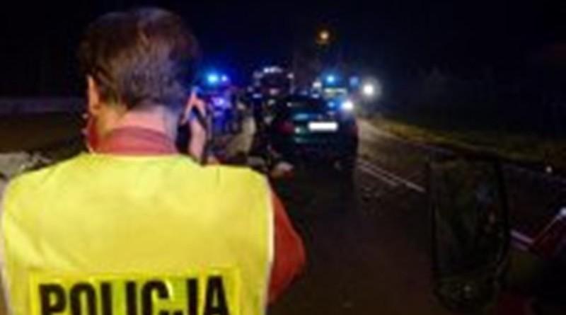 policja wypadek zdjecie
