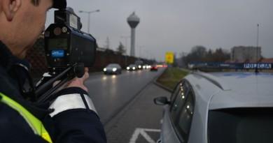 pomiar prędkości policja