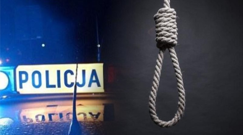policja snur samobójstwo