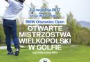 W dniach 2-3 września odbędą się Mistrzostwa Wielkopolski w Golfie! Trwają zapisy dla zawodników!