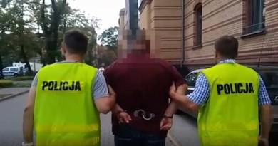 Oszust budowalny zatrzymanie Krzysztof Kamyszek
