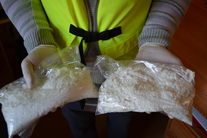 afemtamina narkotyki policja leszno