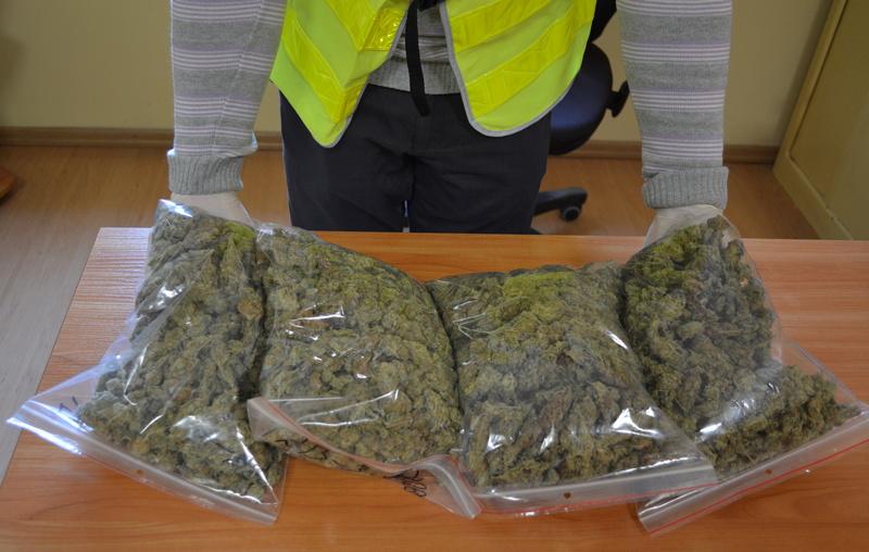 haszysz narkotyki policja leszno