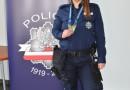 W Śremie lepiej uważaj ! Policjantka została mistrzynią w JIU-JITSU