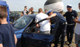 Ostrów Wlkp.- policjanci z drogówki ruszyli z tematyką profilaktyczną